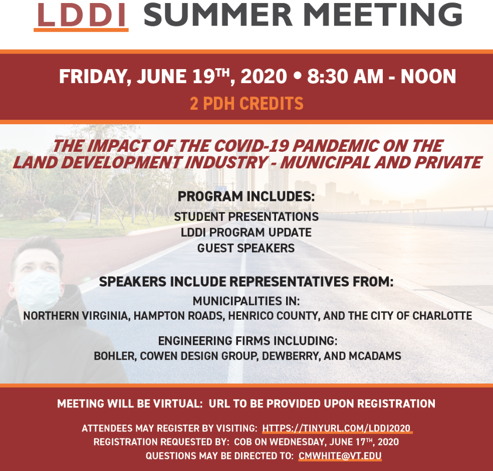 On Friday, June 19th, LDDI will hosts its first virtual General Meeting!